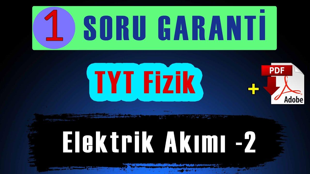 TYT Elektrik -2 | Kavram Yanılgıları | ÖSYM Tarzı Demo Sorular