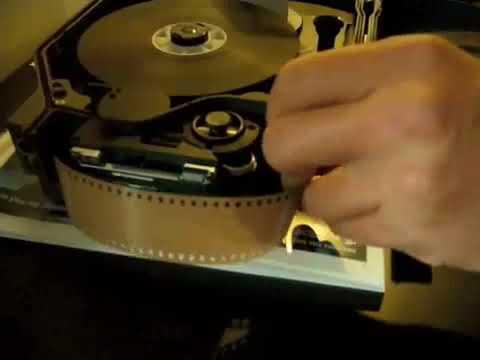 Aaton Penelope S 35mm Mag Loading Process