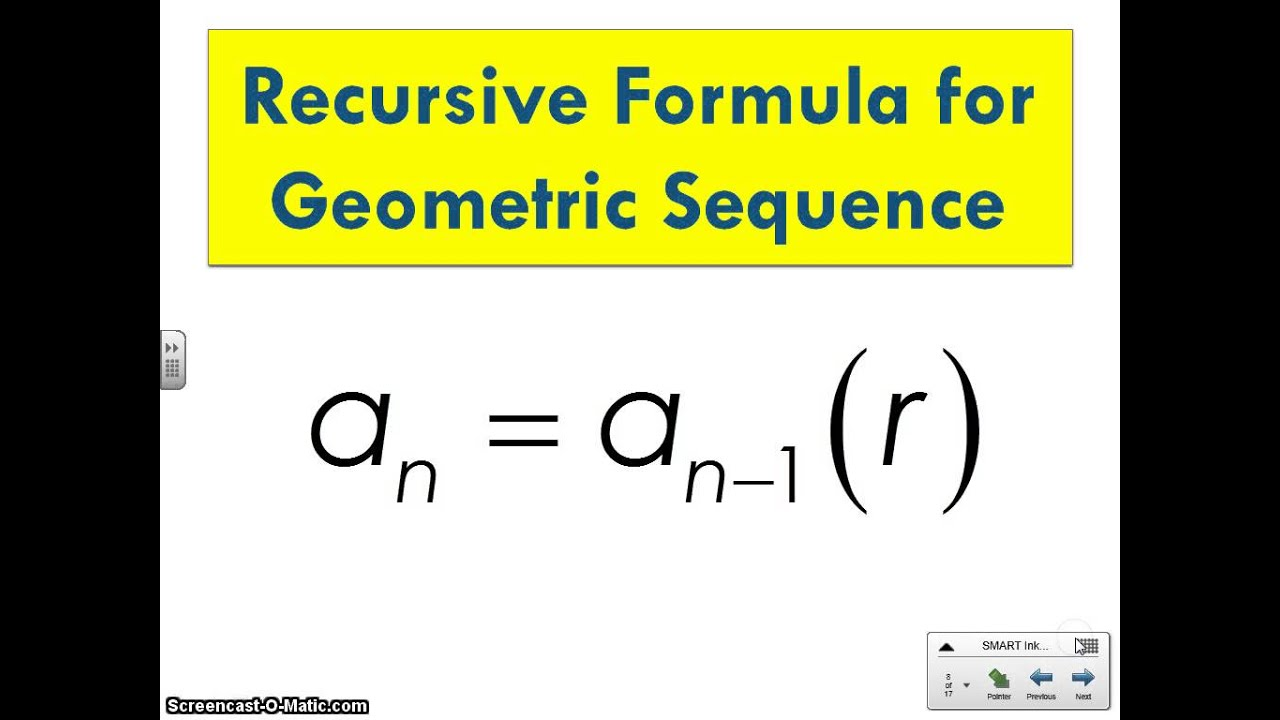 Geometric Sequences and Sums