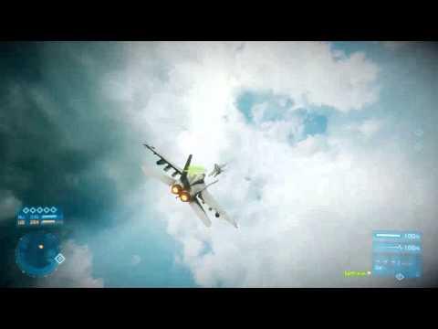 Battlefield 3 - 1v1 Dogfight Practice vs fadi-mat-cL - 720p
