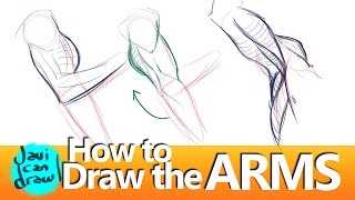 FIGURING OUT HOW TO DRAW THE ARM MUSCLES AND ARMPIT