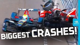 Biggest Crashes In Formula E History