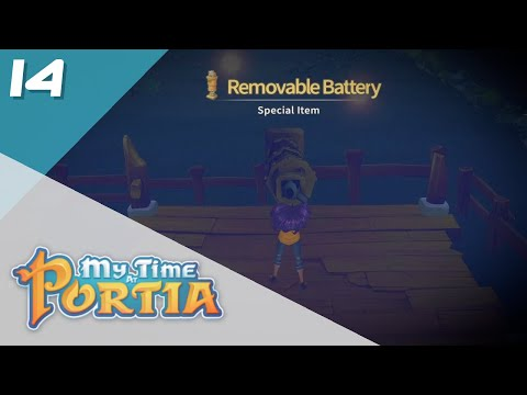 REMOVABLE BATTERY! || My Time at Portia #14 |