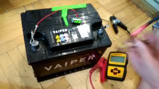 видео Аккумулятор TITAN ARCTIC 6СТ-75.0 VL