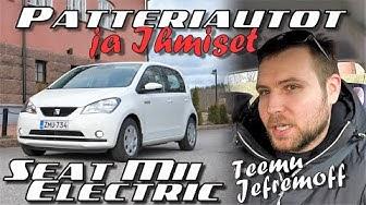 #StayHome Patteriautot ja Ihmiset: Suomen halvin sähköauto Seat Mii Electric ja Teemu Jefremoff