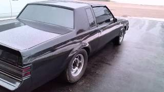 1987 buick grand national side exit exhaust