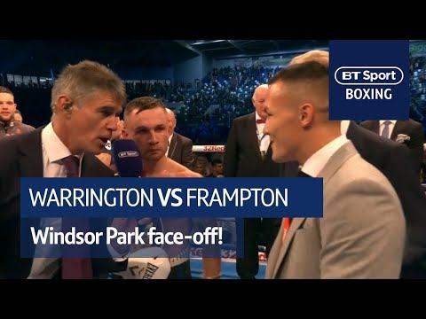 It's Happening! Carl Frampton And Josh Warrington Classy Call Out At Windsor Park