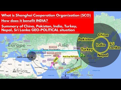 SCO Shanghai Cooperation Organization | How does India benefit? Geo-Political Summary