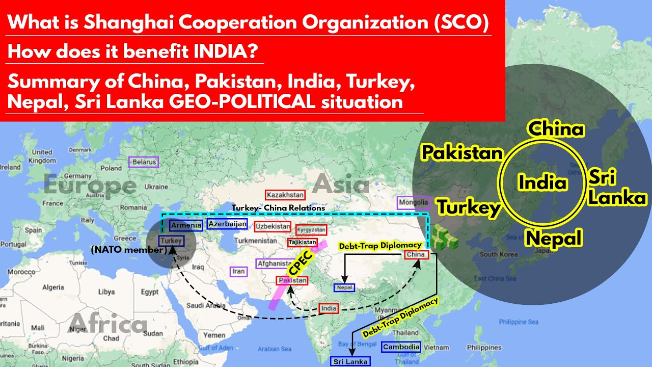Download SCO Shanghai Cooperation Organization | How does India benefit? Geo-Political Summary