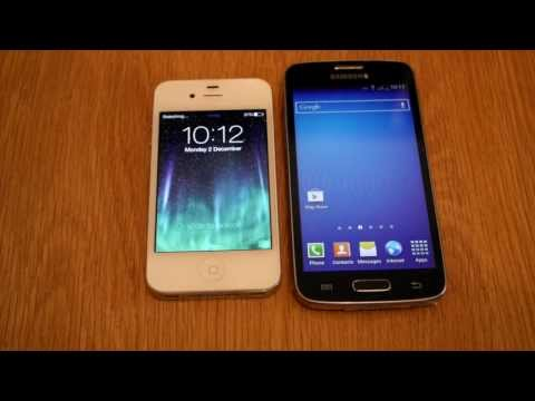 Samsung Galaxy Express 2 vs iPhone 4s