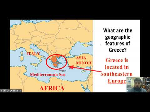 5.2 Geography of Greece