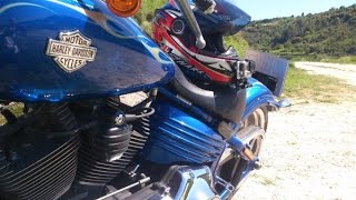 Harley Davidson, Rocker C, Motorcycle Ride, Cyprus, Part One 2014
