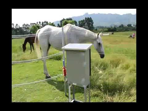 Lanstar Farm energy controller video for horse - Electric fence channel