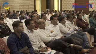 Mr. Rajan of Windsor welcomed the gathering at IndiaPlast 2019 Ahmadabad Roadshow