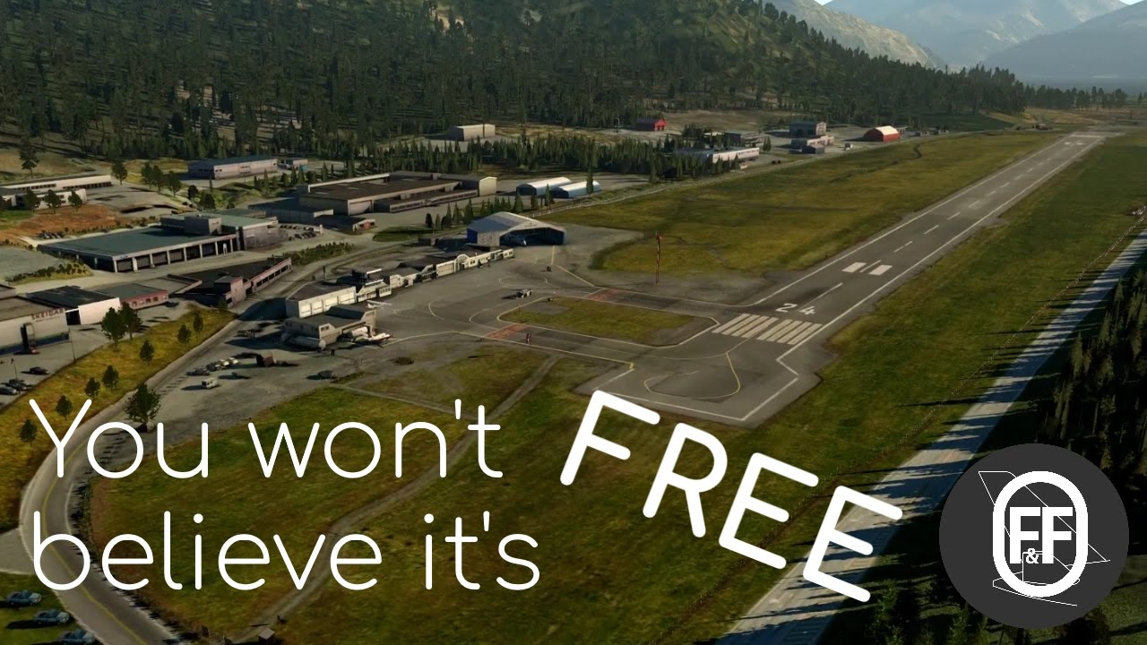 X-Plane 11 | This is the most AMAZING FREE Scenery!
