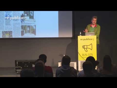 re:publica 2015 – Alex Rühle: Unsere Stadt auf Goldgrund on YouTube