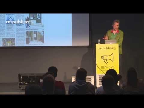 re:publica 2015 – Alex Rühle: Unsere Stadt auf Goldgrund on YouTube