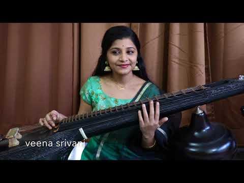 #Jaabilli kosam in telugu#Rasathi unna song in tamil#Sangati neenu song in Kannada by #Veenasrivani