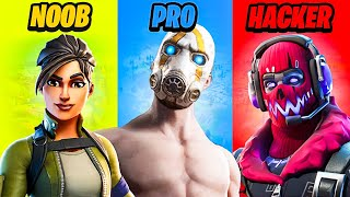 NABBO vs PRO vs HACKER su FORTNITE CAPITOLO 2!