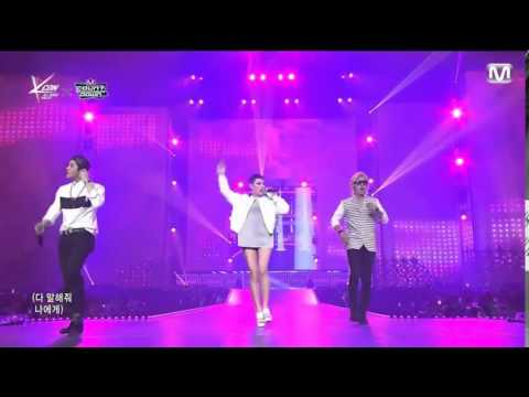 150423 Jackson GOT7 Cheetah Kangnam MIB  - My Type (live performance)