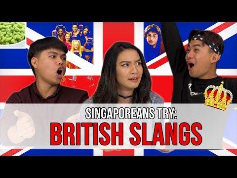 Singaporeans Try: British Slangs | EP 122