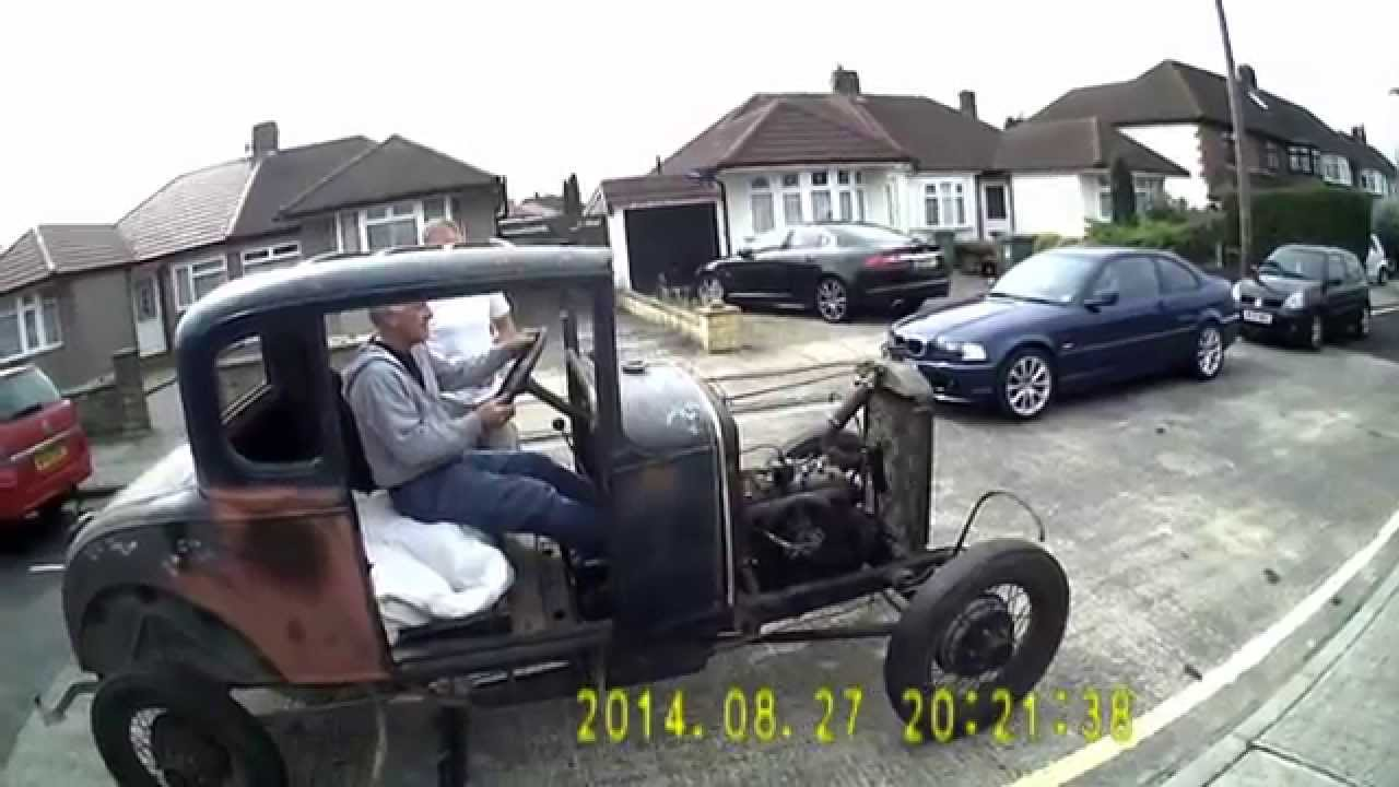 1930 Model A Ford Coupe UK Hot Rod project - YouTube