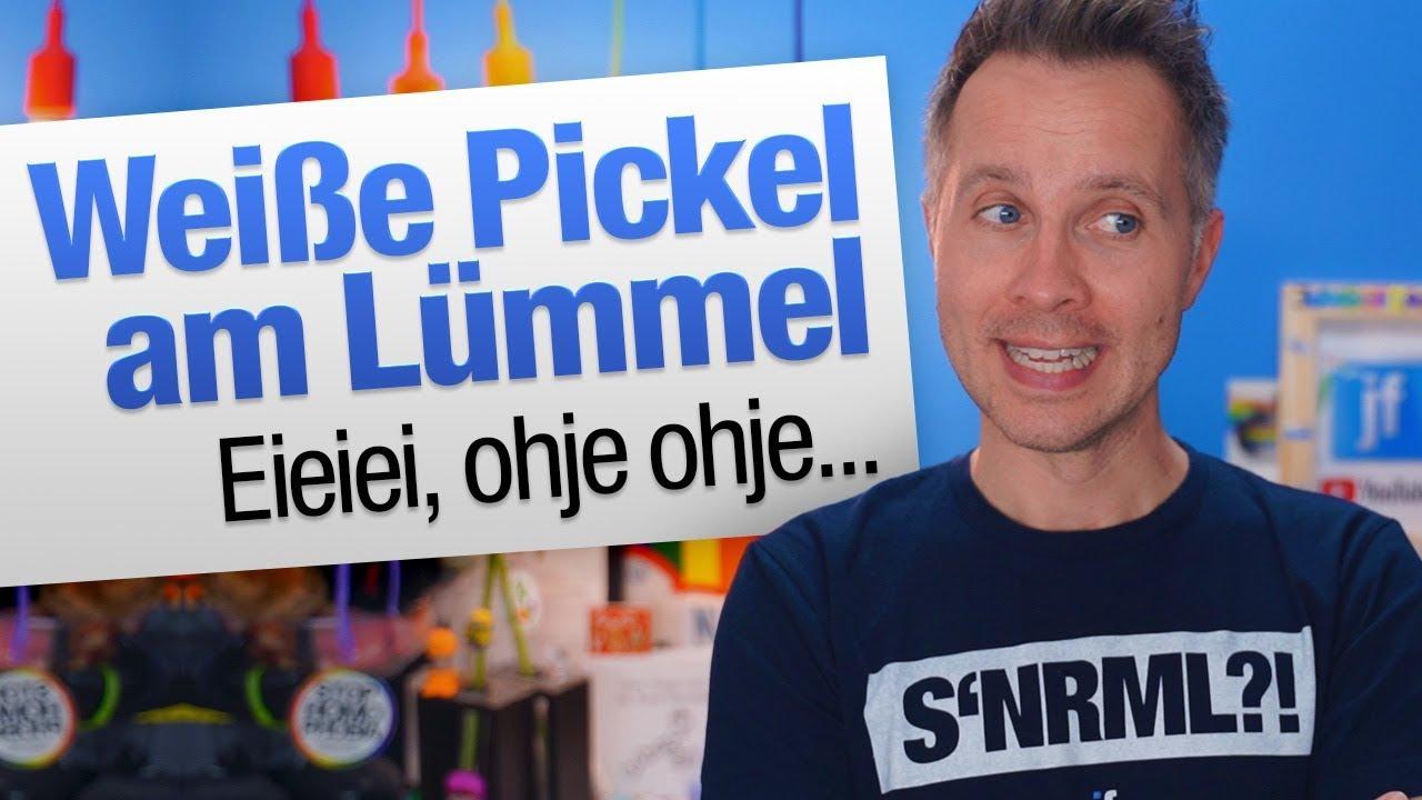 Weiße pickel penis