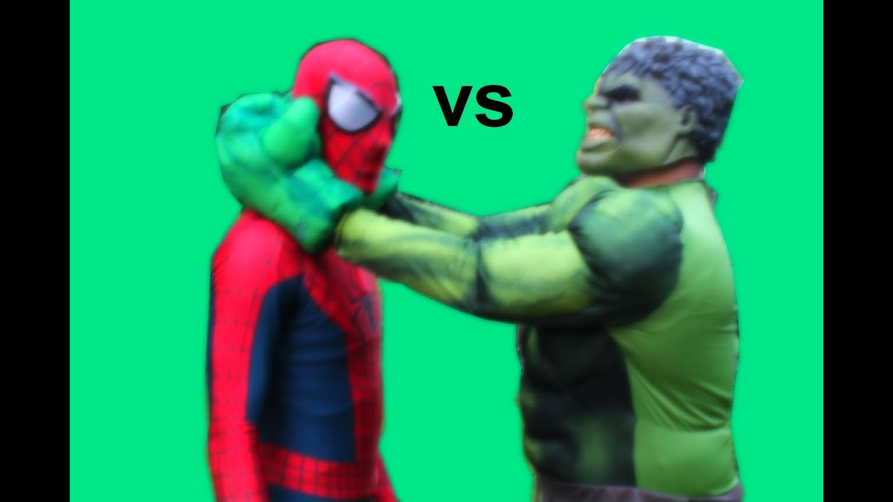 Download New Spiderman vs Hulk Battle Death Match Superhero Movie
