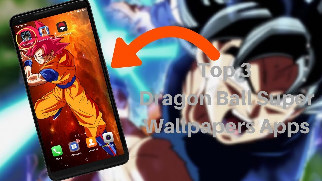 Top 3 Dragon Ball Super Wallpaper Apps That Are Best On Playstore