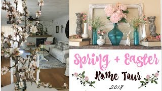 SPRING HOME TOUR 2018 | FARMHOUSE COTTAGE DECOR TOUR | Momma from scratch