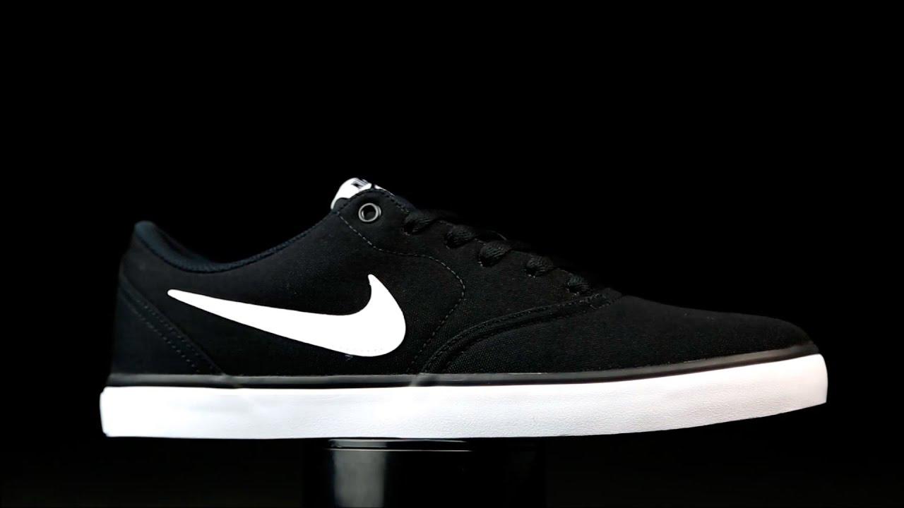 f202d52563e Nike SB Check Solar color negro. - YouTube