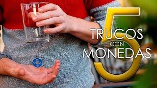 Cómo hacer los 5 MEJORES TRUCOS CON MONEDAS! - Magia Fácil y visual