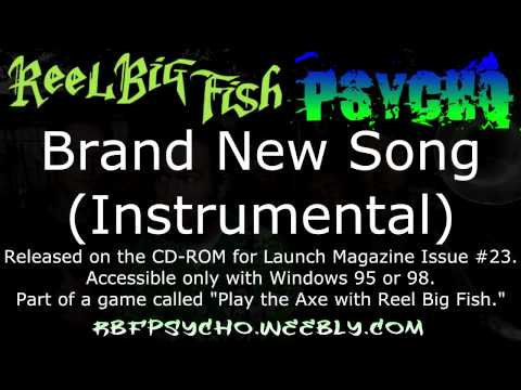 Long Lost RBF Rarity - Brand New Song (Official Instrumental)