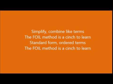 FOIL parody of Timber lyric video