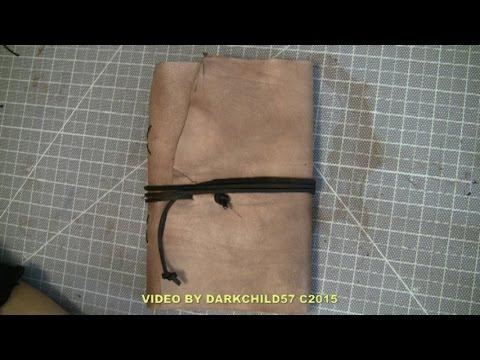 DIY: High capacity refillable Travel Journal (see description)