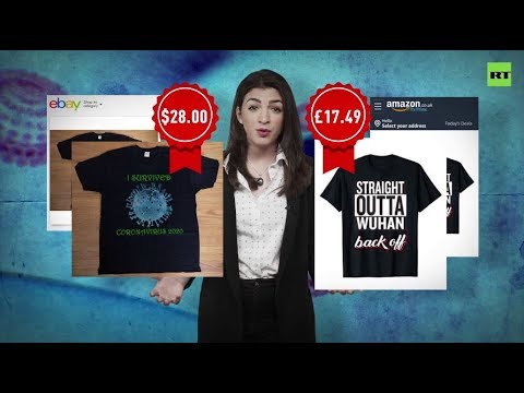 'Straight Outta Wuhan': Coronavirus merch hits online shelves