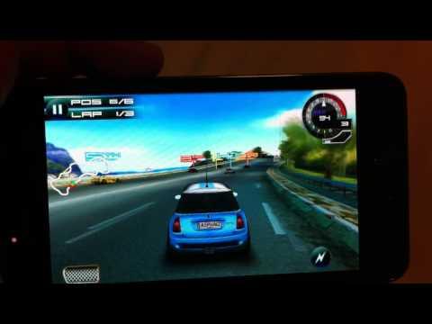 เล่น Asphalt 5 บน Samsung Galaxy SII