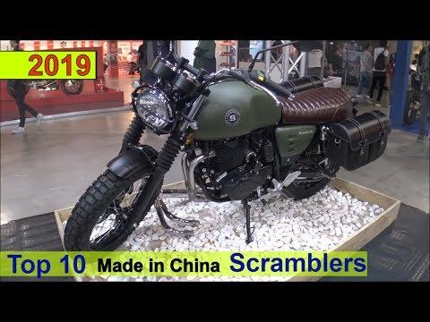 Top 10 Scrambler Made in China 2019