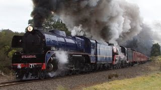Snow Train 2015 with R711 and R761: Australian Trains
