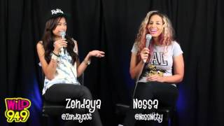 Zendaya Interview @ Wild 94.9 on August 6,2012