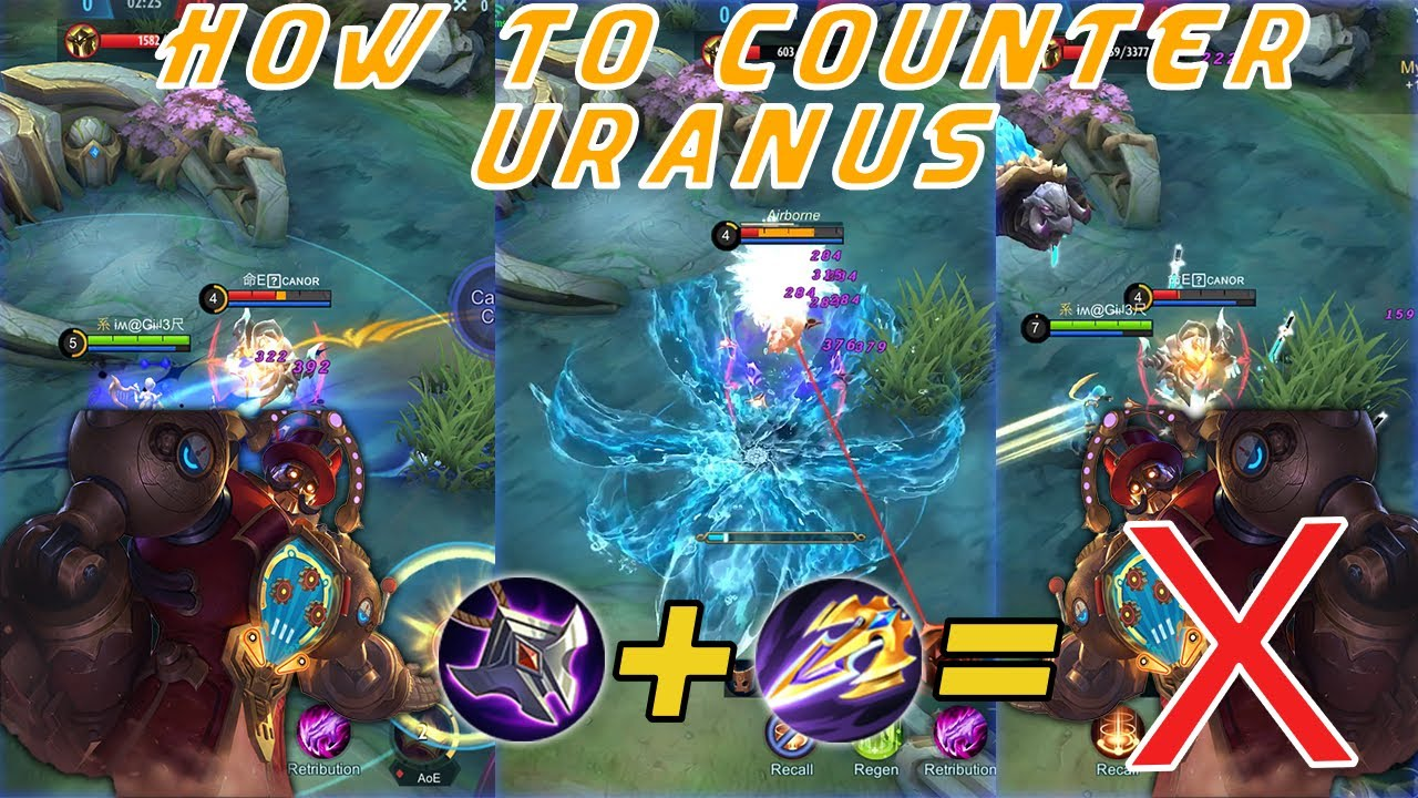 How To Kill The Unkillable Tank | Anti Uranus Guide | Mobile Legends Bang Bang