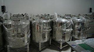 غير القابل للصدأ الصلب خزان التخزينportable  storage tank stainless steel