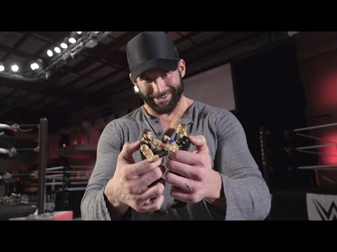 Zack Ryder unboxes Mattel's new WWE Tough...