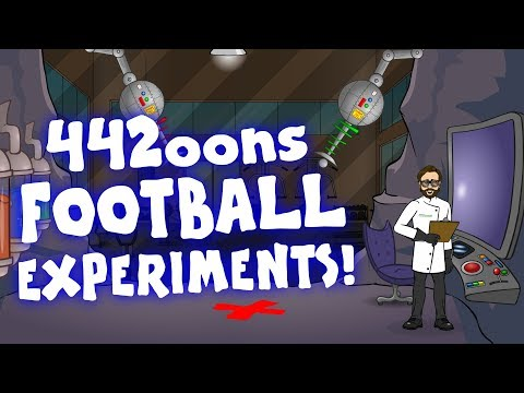 ⚡SUPERCHARGED⚡ 442oons FOOTBALL EXPERIMENTS!