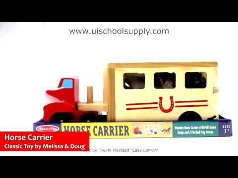 Horse Carrier By Melissa & Doug LCI-4097