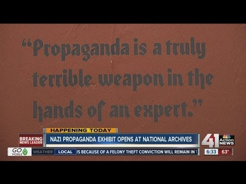 Nazi propaganda exhibit opens at National Archives