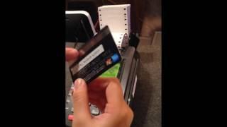 Hướng dẫn dùng máy cà thẻ tín dụng POS part 1