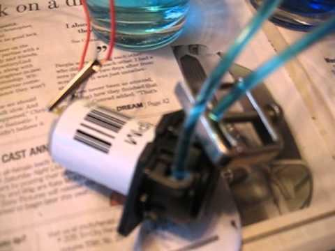 12v peristaltic pump operation