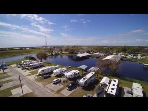 Taylor Creek RV and Marina Resort, Okeechobee, FL     Feb 29 2016
