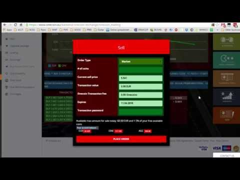 How To Sell OneCoin On The Exchange